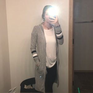 Sweaters - Women's long cardigan